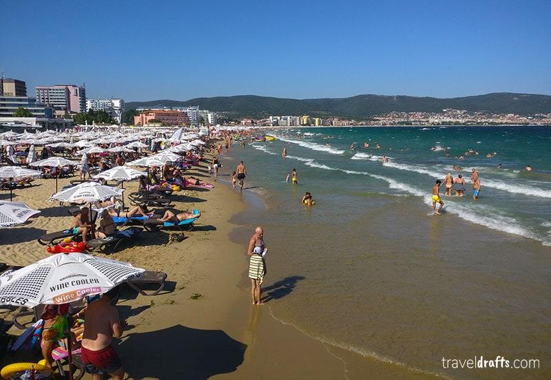 Best beaches of Bulgaria - Sunny Beach