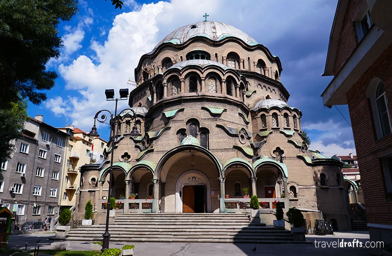One of Sofia's main tourist attractions Sveta Paraskeva - What to do in Bulgaria