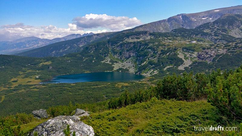 Rila Lake in Rila National Park