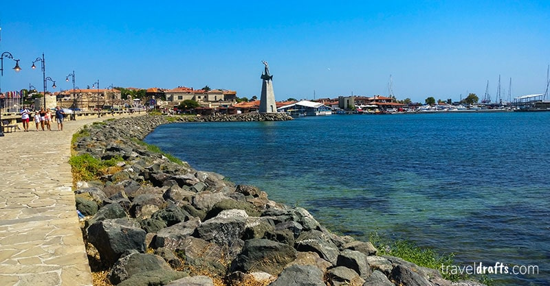 The city of Nessebar - UNESCO World Heritage of Bulgaria