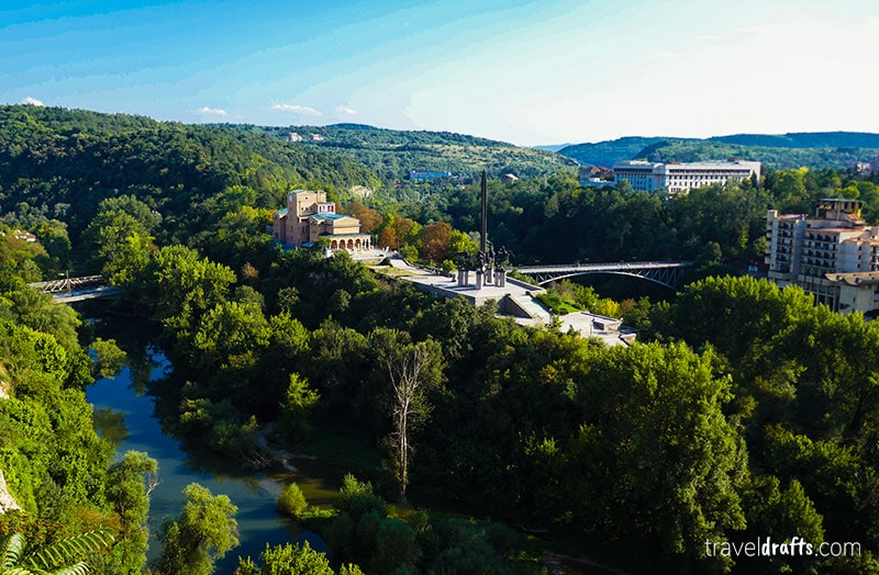 Veliko Tarnovo é um dos destinos mais atraentes da Bulgária