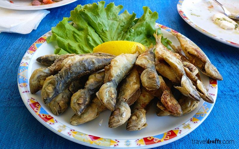 Bulgarian Cuisine -  Fried Sprat