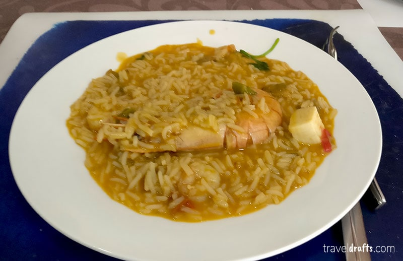 Portuguese fish and seafood dishes