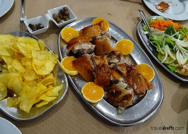 Typical dishes in Portugal