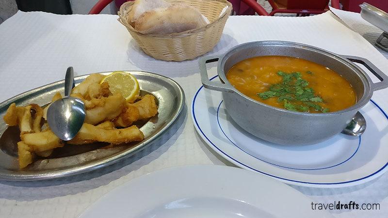 Pratos comuns em Portugal