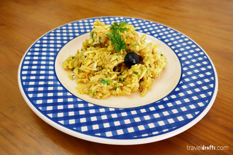 What is Portugal known for? Bacalhau - codfish