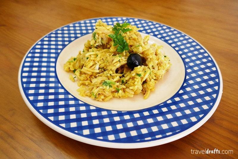 Bacalhau Portuguese dishes