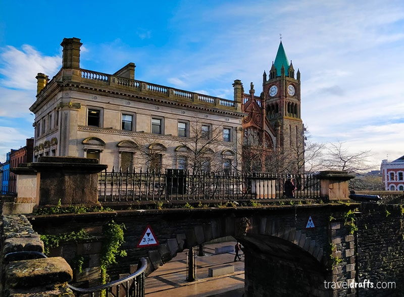 Guildhall, City Hall of Derry, Ireland