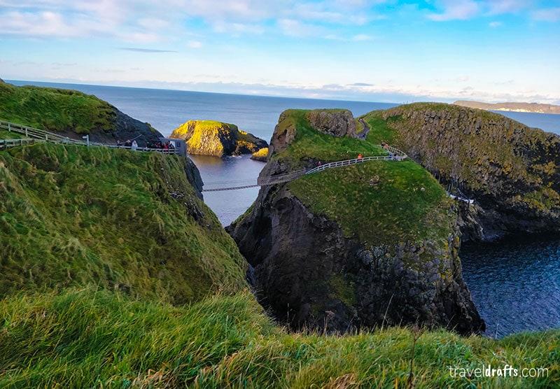 Most known landmarks in Ireland