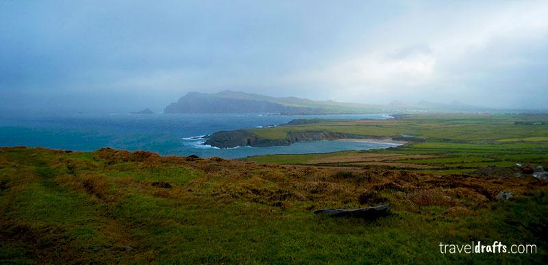 Peninsula de Dingle na Irlanda
