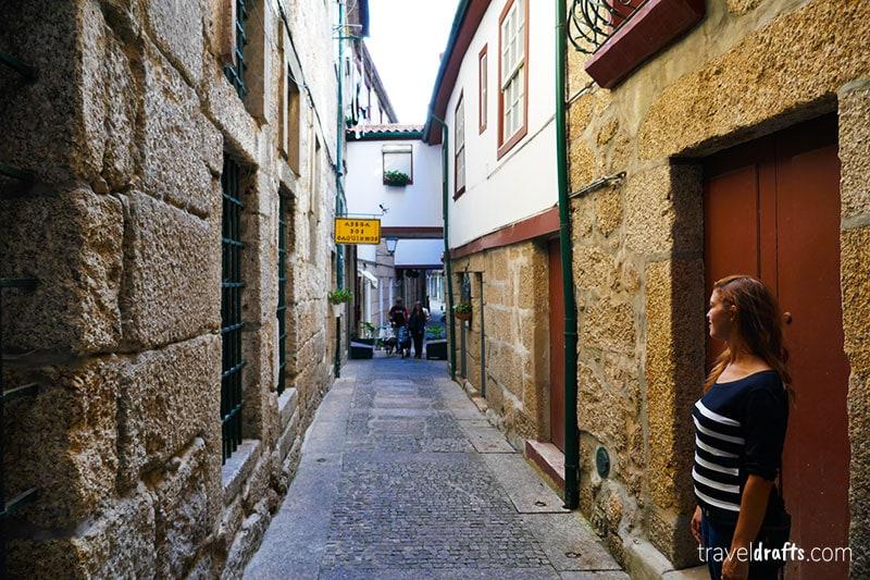 Santa Maria Street  in Guimarães