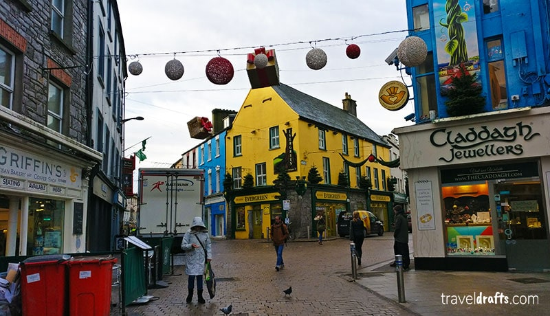 Streets of Galway Irland travel guide