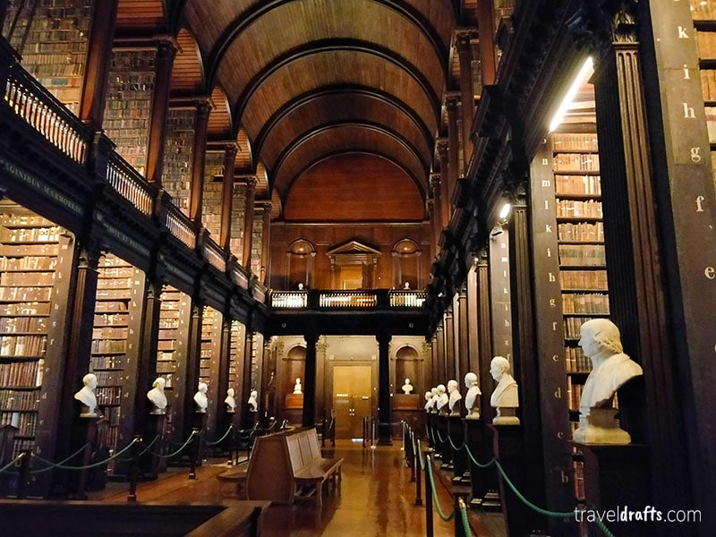 Trinity College Library - what to know about Ireland travel