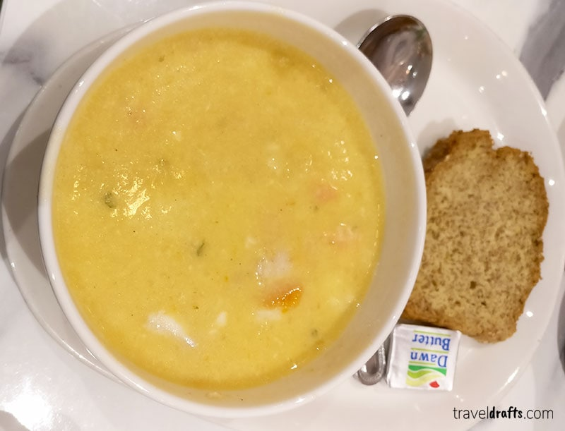 seafood chowder Irish food - things to eat in Ireland