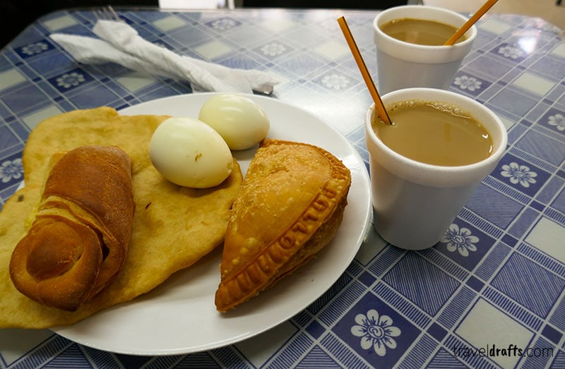 Coffee and Breakfast in Panama