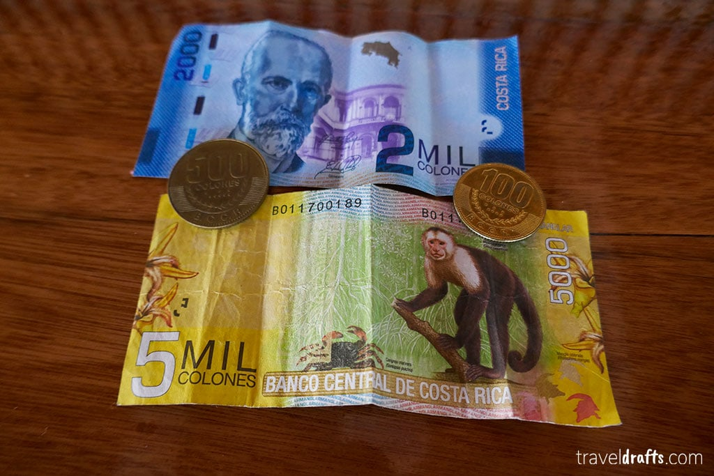 How much does it cost to travel in Costa Rica?