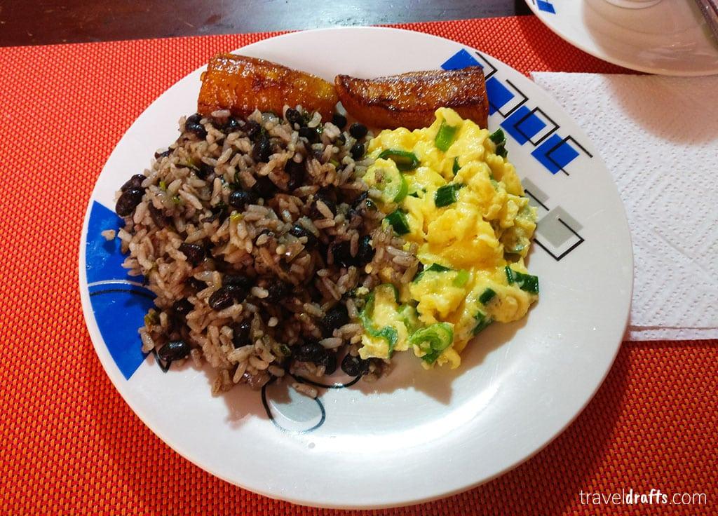 O que comer na Costa Rica