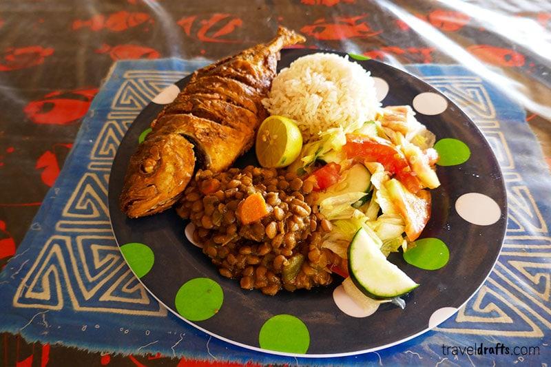 food in San Blas