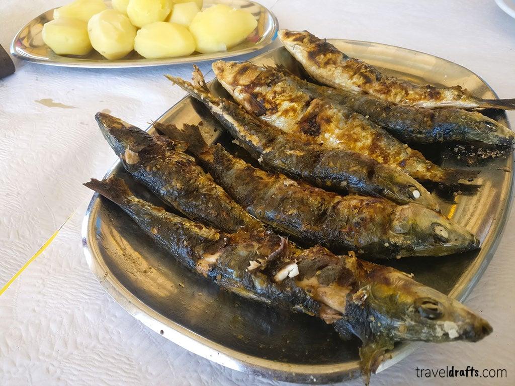 Fresh fish in Portugal