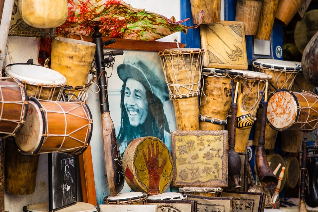Bob Marley Shrine - One of the many reasons Jamaica is famous for