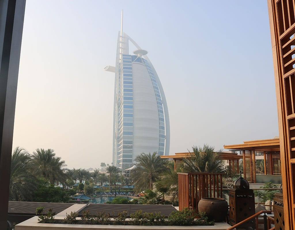 Burj Al Arab - one of the most famous things about UAE
