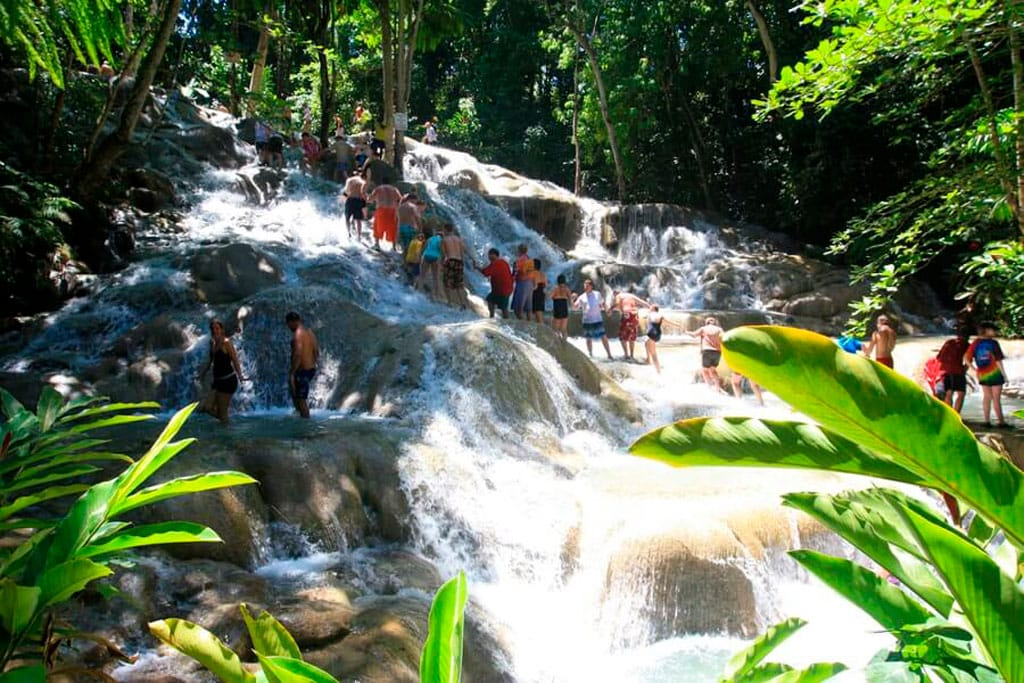 What is Jamaica best known for? Beautiful scenery like Dunns river falls