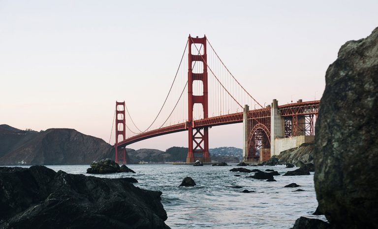 Golden Gate - why you should come to the USA