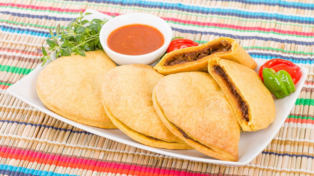 Jamaican Patties - one of the most famous foods from Jamaica