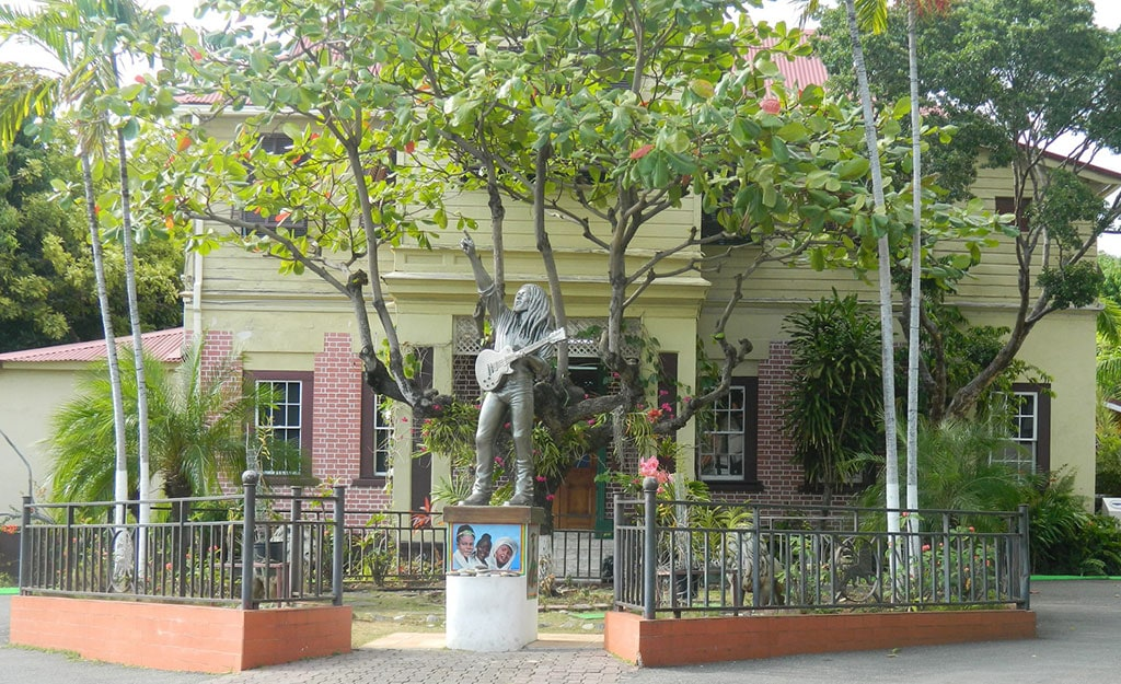 The entrance of Bob Marley Museum - What is Jamaica Known for