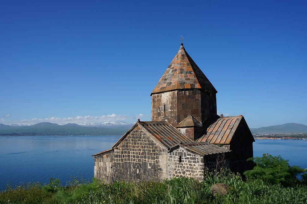 Sevan church byt the Lake Sevan is nice Yerevan Day trip