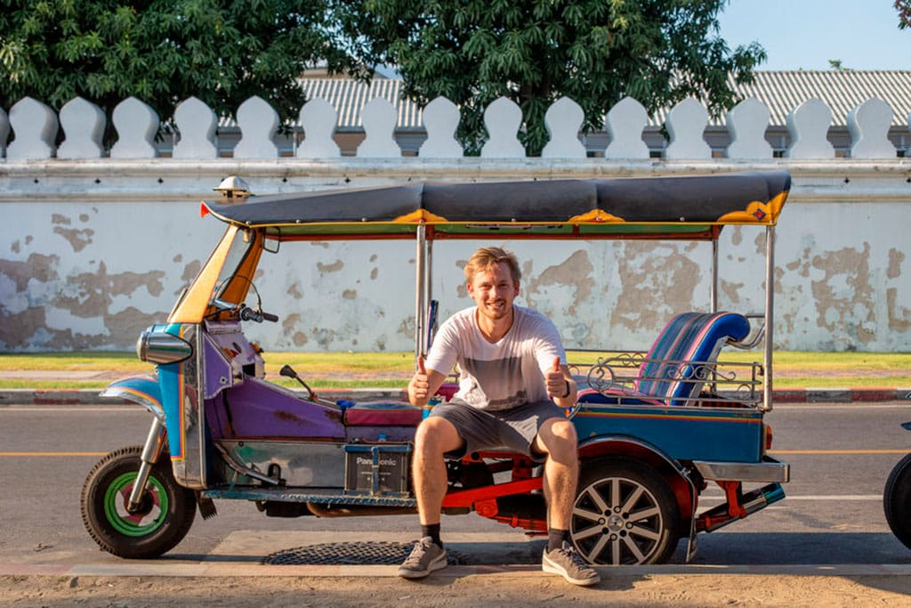 What is Thailand known for? the tuk tuks