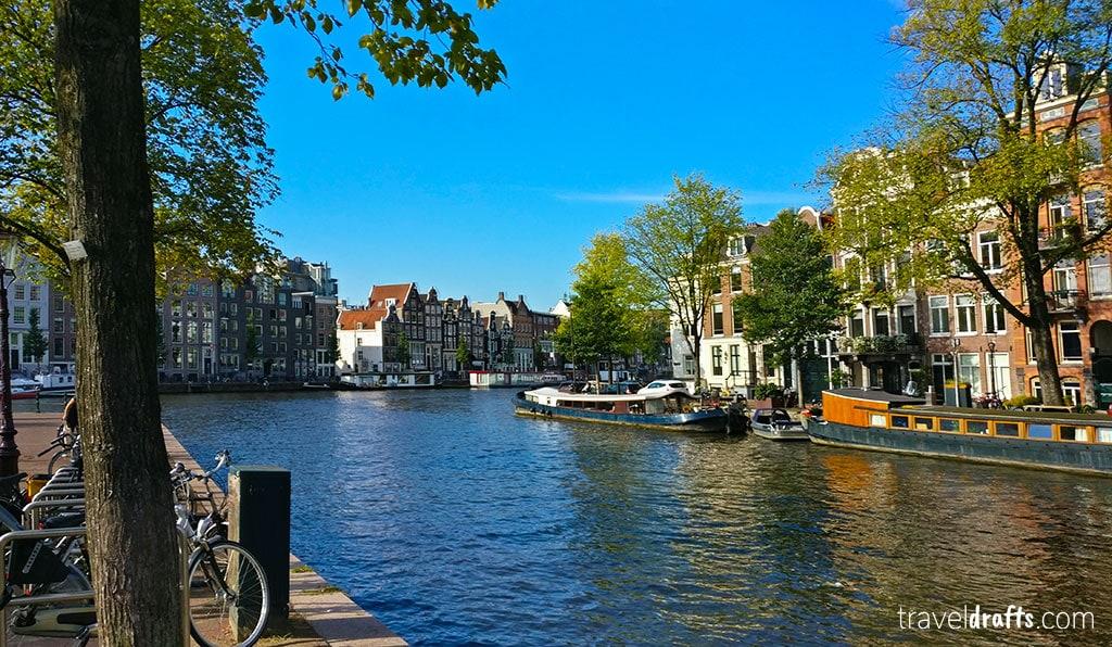 o que fazer numa escala em Amesterdão?