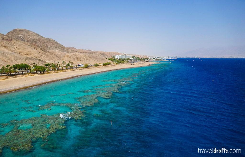 The coral reed  - a wonderful natural landmark in Israel