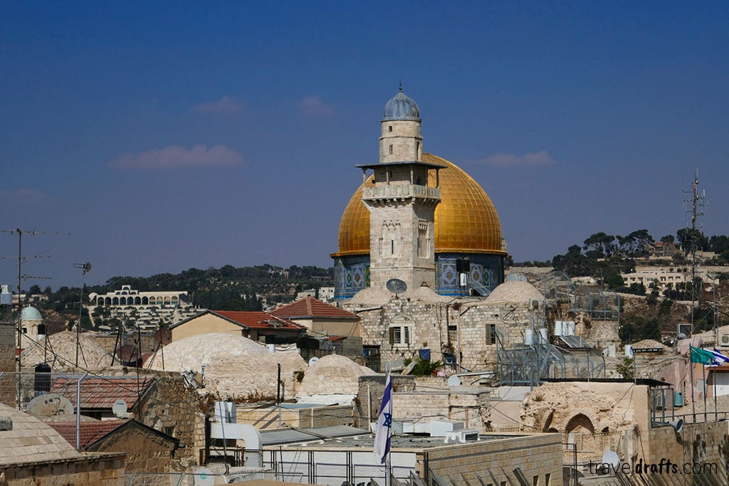 Traveling in Jerusalem