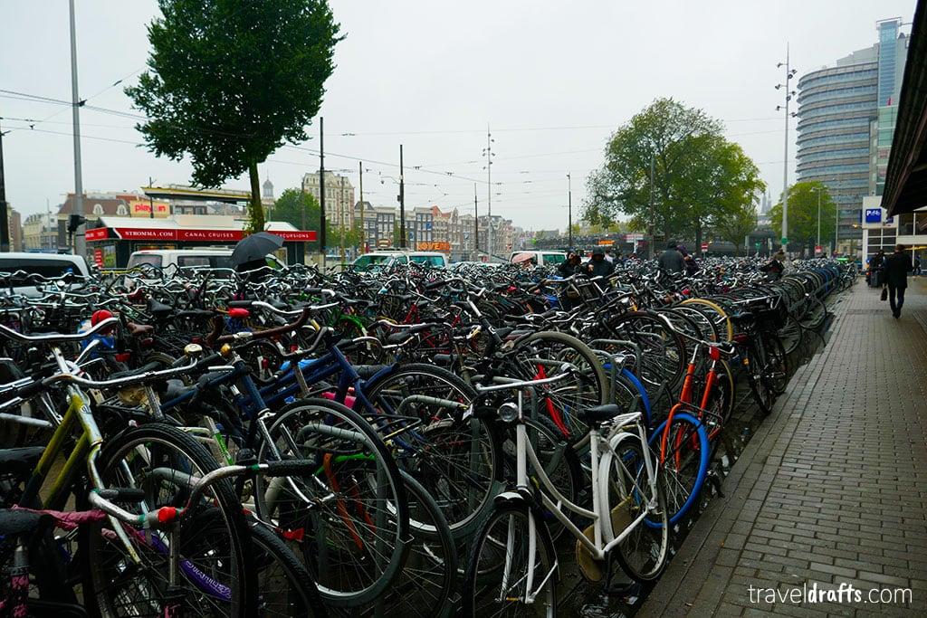 escala em Amesterdão