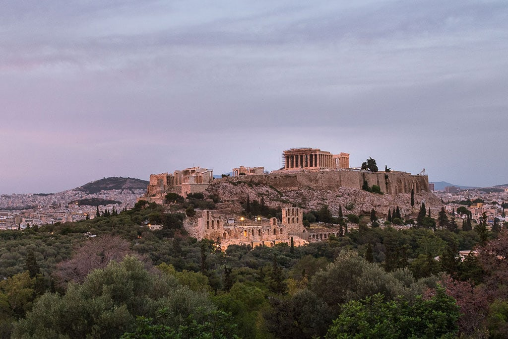What is Greece famous for? The Acropolis of Athens
