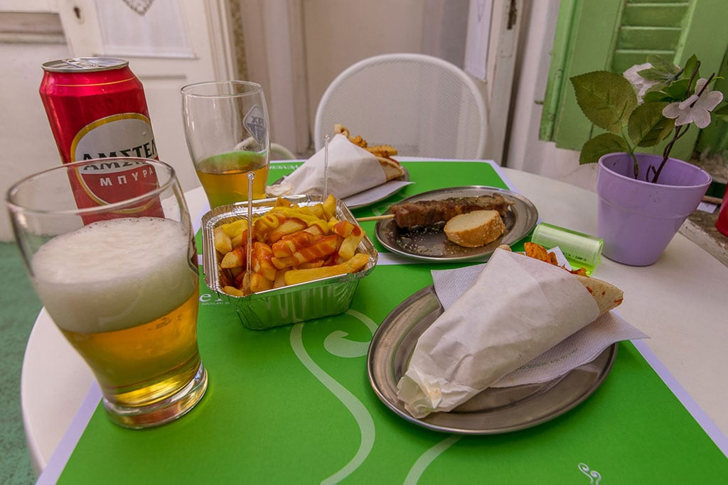 Greek food is one of the things Greece is famous for
