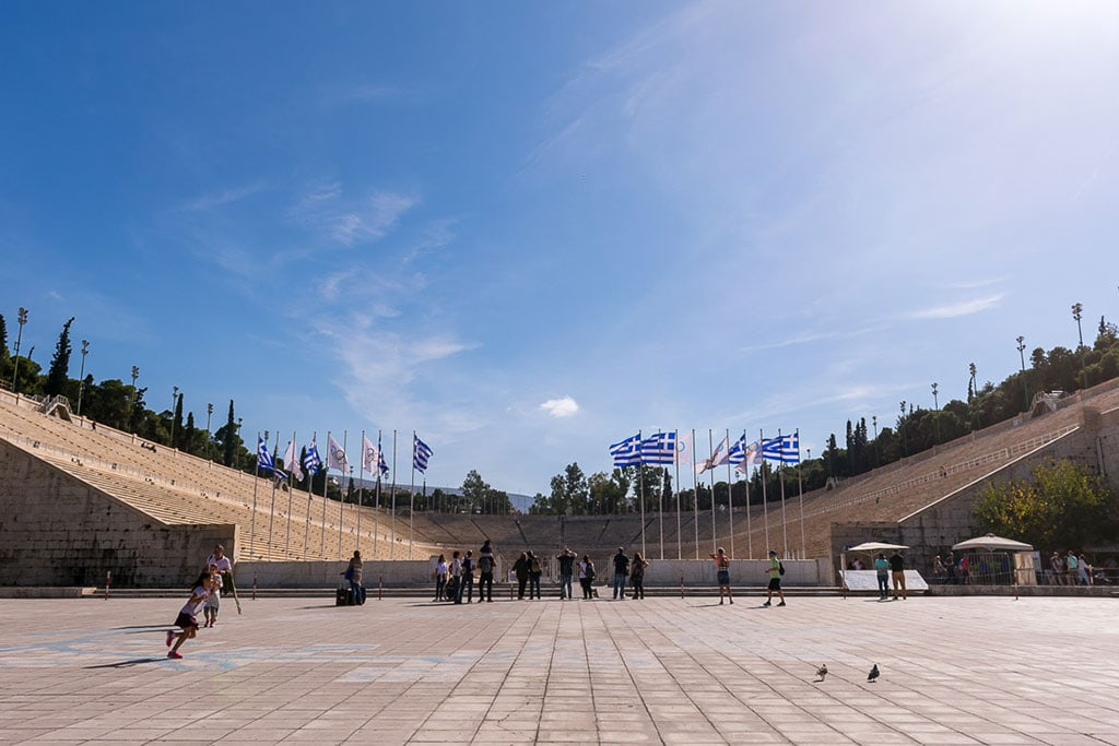 The Olympic games are one of the most famous Greek traditions