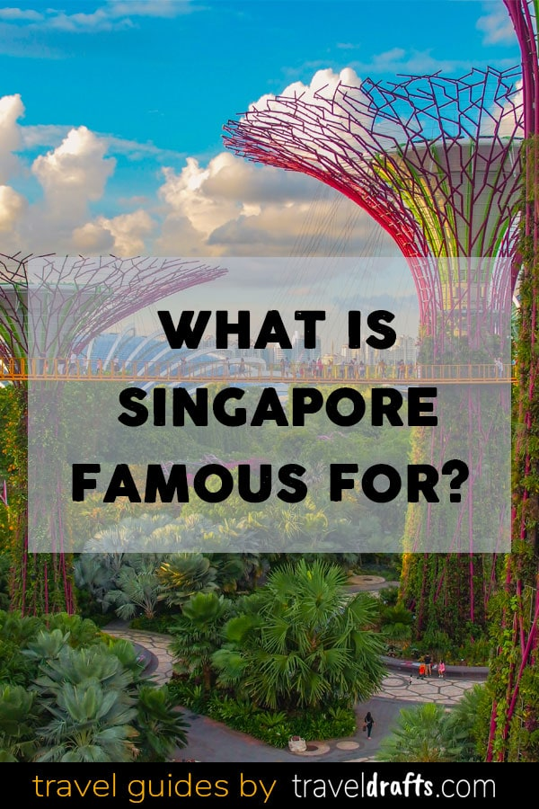 What is Singapore famous for?