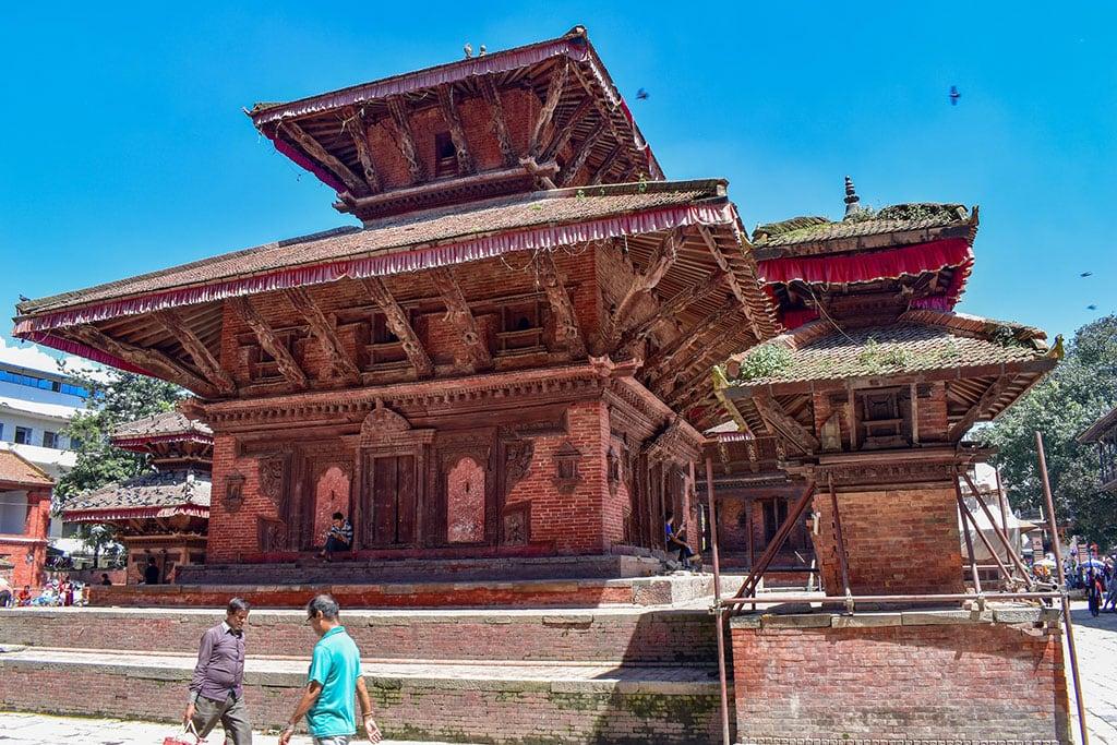 Kathmandu Durbar Square in Kathmandu Nepal What is Nepal famous for?