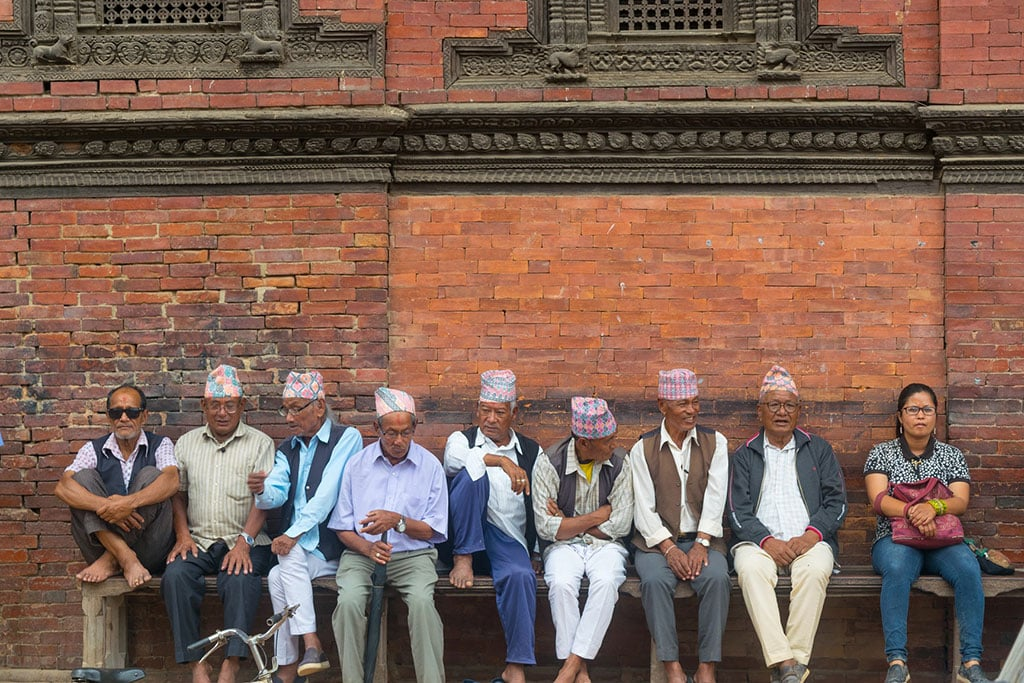 Nepalese People In Kathmandu Durbar Square What is Nepal famous for?