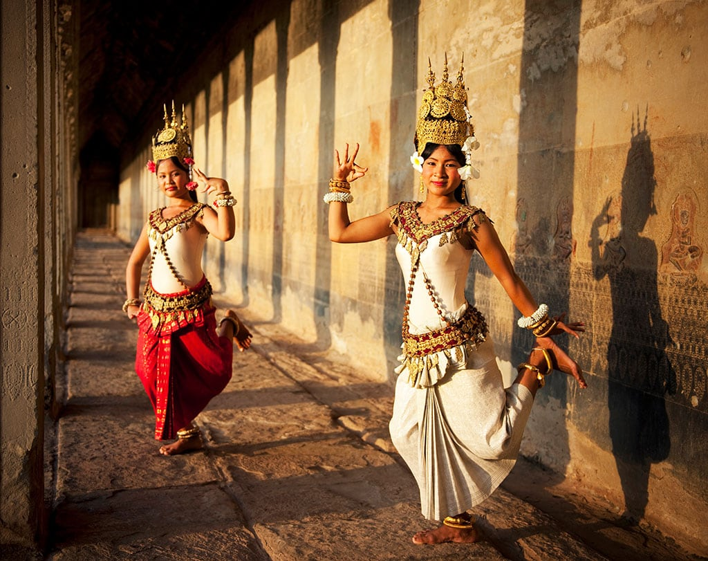 What is Cambodia famous for