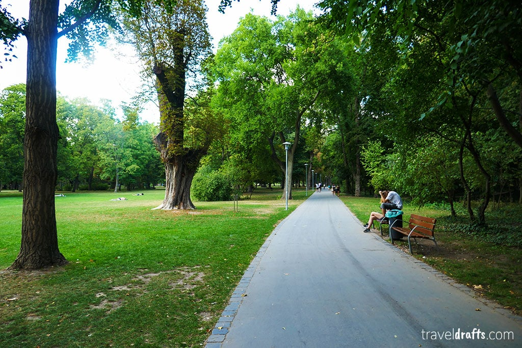 Thing to do in Margaret island in Budapest