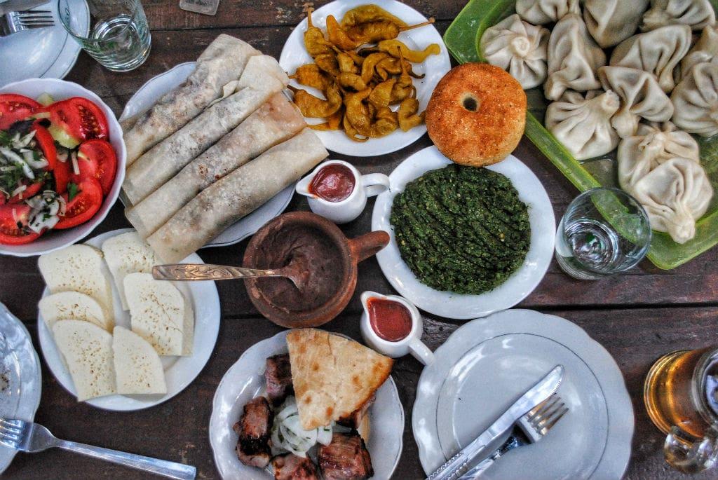 What s Georgia known for? Georgian cuisine