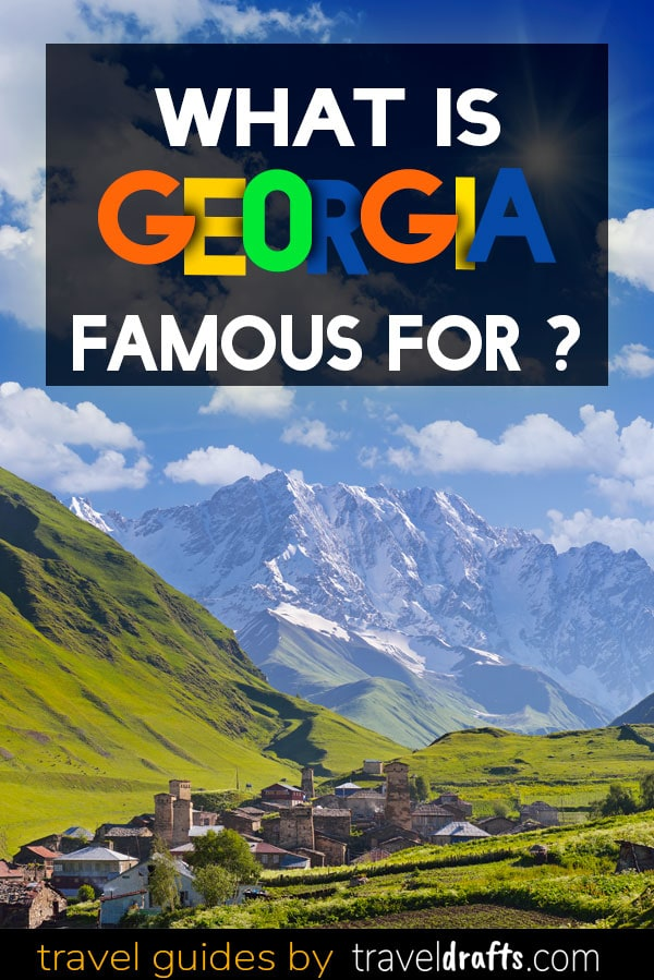 What is Georgia known for?