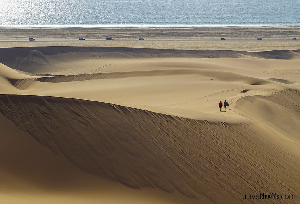 Beaches of Namibia Namibia or Botswana? where to go in Southern Africa?