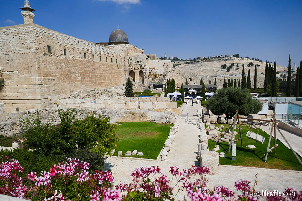 city of david, one of the famous landmarks in Israel