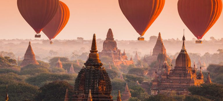 What is Myanmar famous for