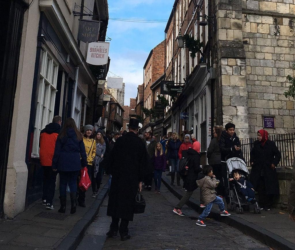 Visiting York in Winter