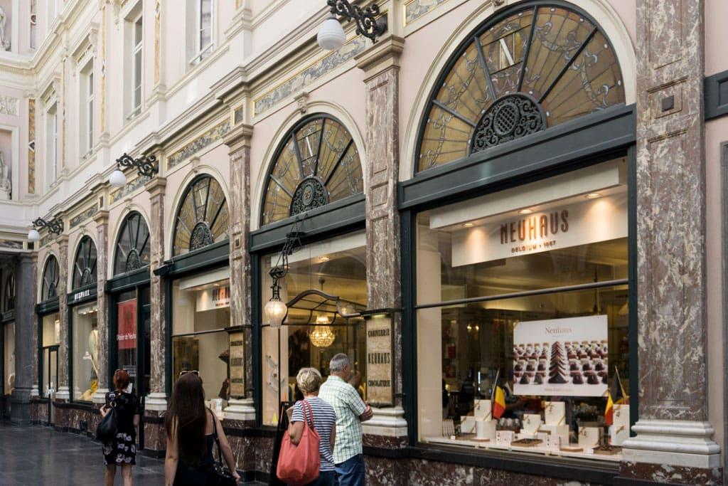 Well-known landmarks in Belgium